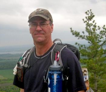 Mike B. Membre Bougex hyperactif, spécialiste du sentier national dans Lanaudière.