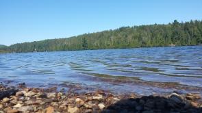 Lac au Village des Jeunes de Saint-Côme