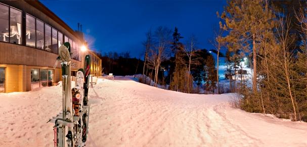 Ski de soirée !