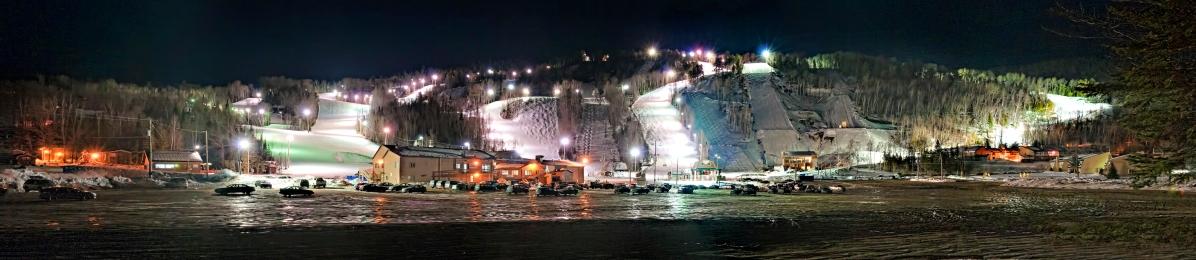 Station Touristique Val Saint-Côme : le soir !!!