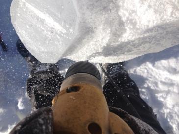 Atelier sculpture sur glace 2016