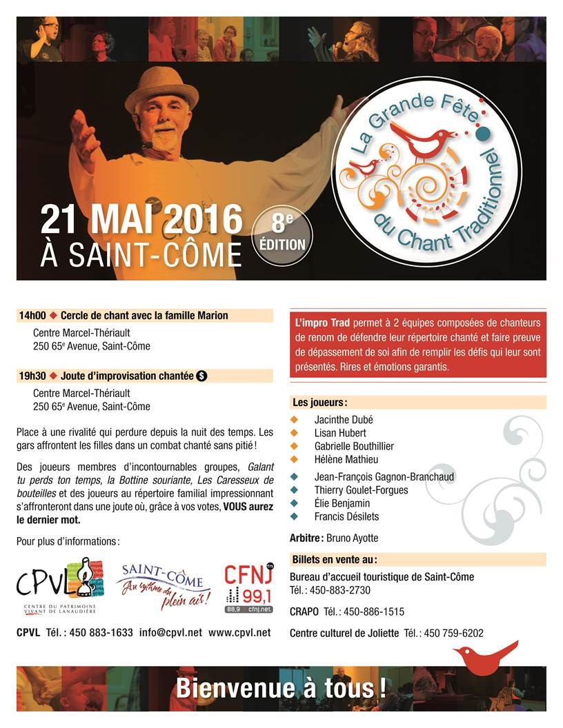 Horaire 2016