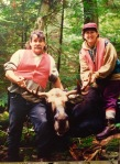 Alain et Line à la chasse