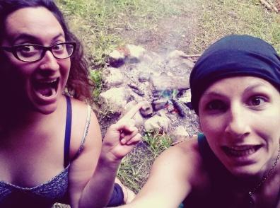 Camping feu