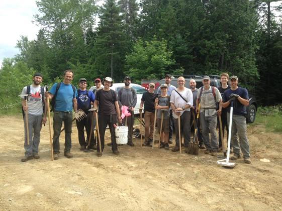 Heureux bénévoles - Vélo de montagne Plein Air Lanaudière