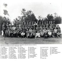 Campement des draveurs en 1948