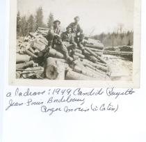 Candide Payette, Jean-Louis Bordeleau et Roger Morin