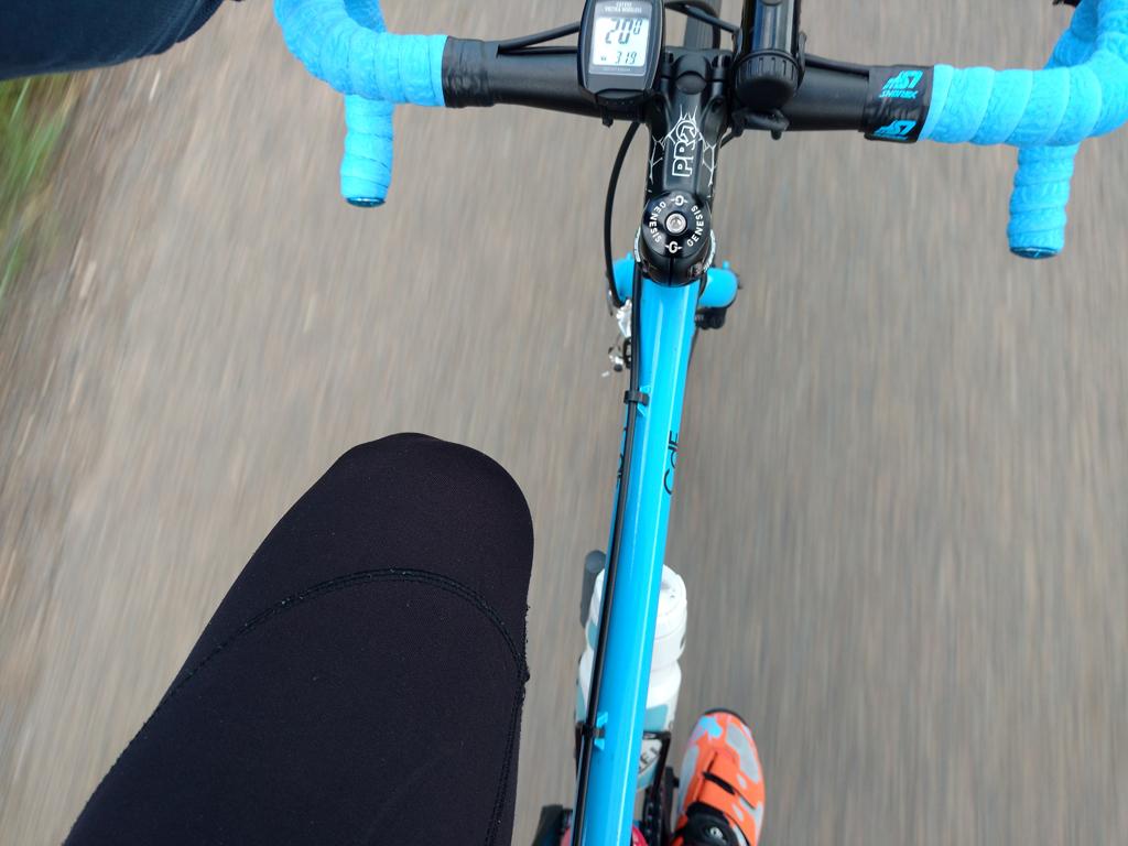 Vélo de route à Sainte-Côme