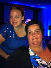 Avec Sophie du Bureau d'Accueil